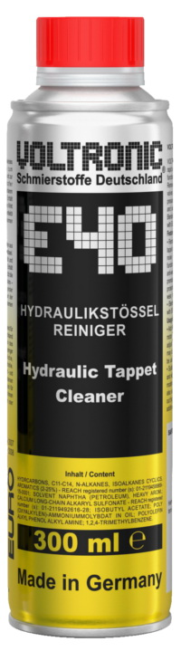 E40 Hydraulic Tappet Cleaner