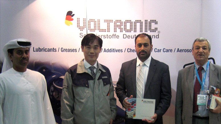 Voltronic debut in Automechanika Middle-East 2012