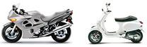 Motorräder und Kleinfahrzeuge