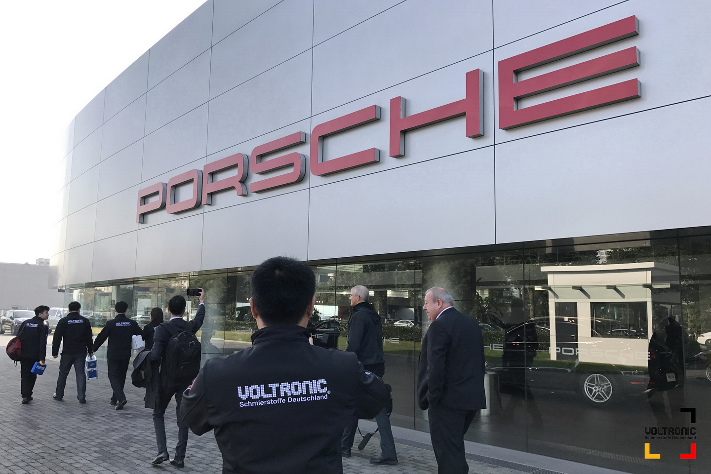 VOLTRONIC conduct training at Porsche Group
