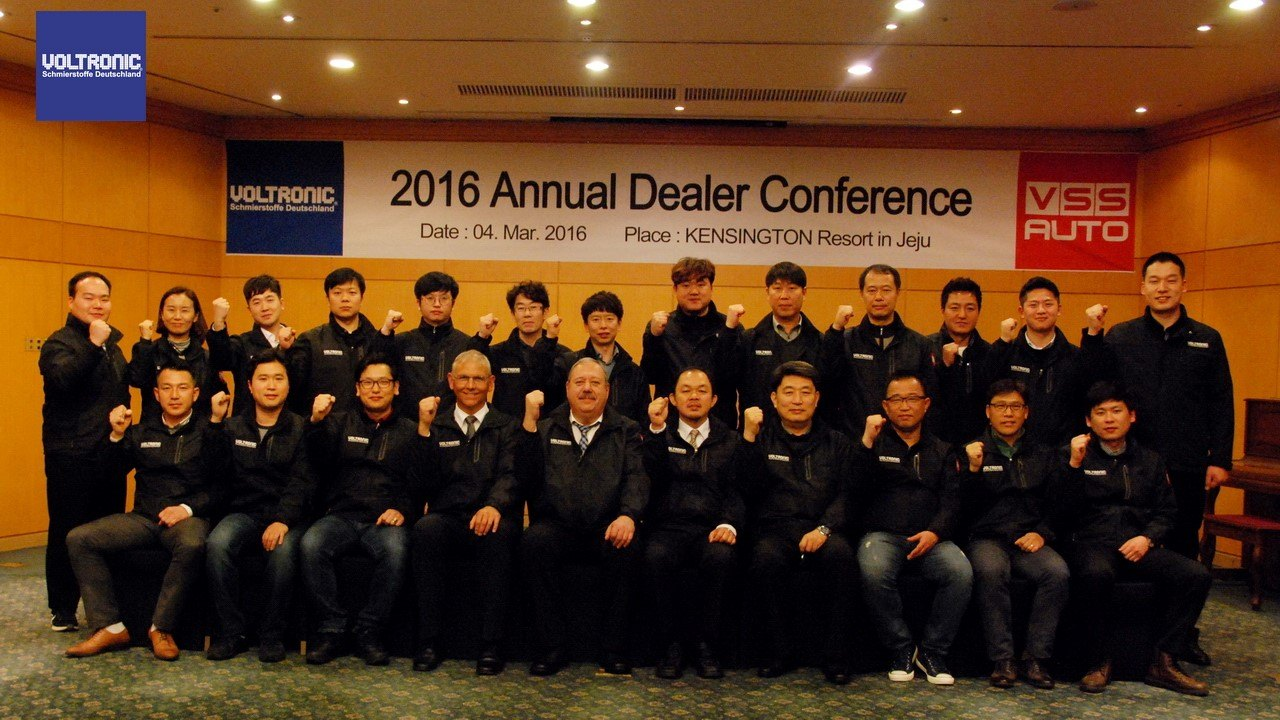 VOLTRONIC South Korea Annual Dealer Conference 2016