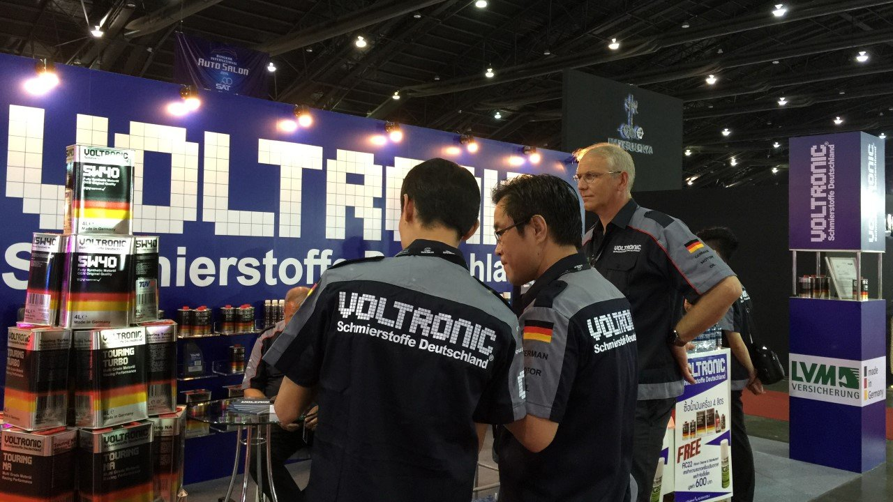 VOLTRONIC Bangkok International Auto Salon 2015